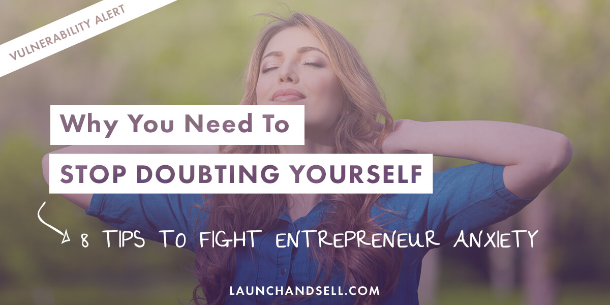 how to stop doubting yourself book